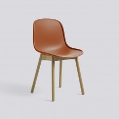 NEU 13 CHAIR MATT LACQUERED OAK BASE