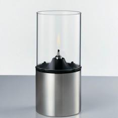 Lampe d'huile, verre clair