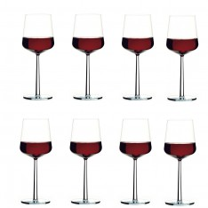 IITTALA ESSENCE RED WINE GLASS 4+4 DEAL