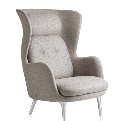 RO CHAIR JH1 DESIGNER SELECTION GRIS CLAIR