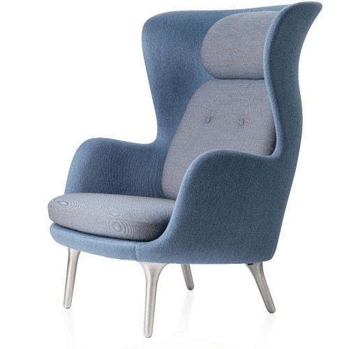 RO CHAIR JH1 DESIGNER SELECTION LIGHT BLUE