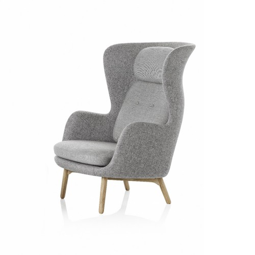 RO CHAIR JH2 DESIGNER SELECTION GRIS CLAIR