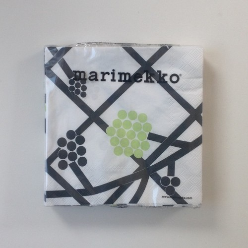 MARIMEKKO PAPER NAPKIN - LARGE - HORTENSIE GREEN