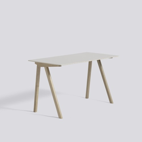 CPH90 DESK SOAPED OAK FRAME