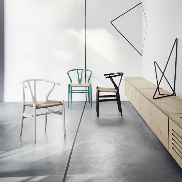 Carl hansen ch24 wishbone stoel in chs kleur gelakt for Design stoel 24