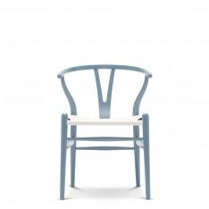 CARL HANSEN & SØN CH24 WISHBONE CHAIR - CHS COLOUR + WHITE SEAT