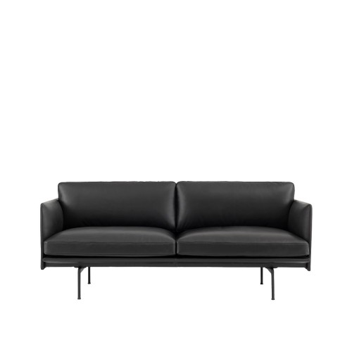 OUTLINE SOFA 2-ZIT - LEER
