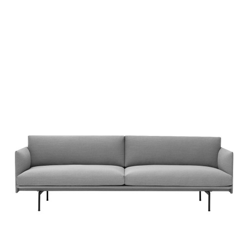 OUTLINE SOFA 3 PLACES - TISSU