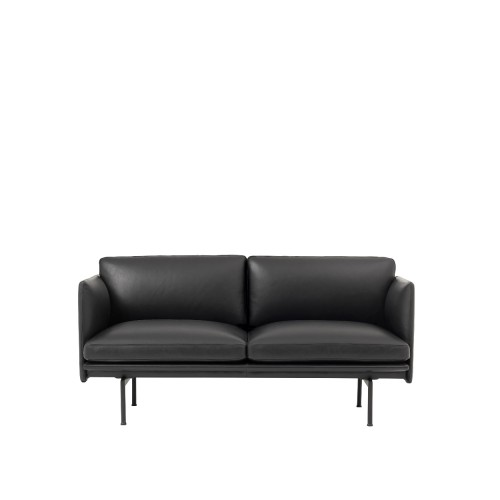 OUTLINE STUDIO SOFA 2-ZIT - LEER