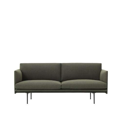 OUTLINE SOFA 2 PLACES - TISSU