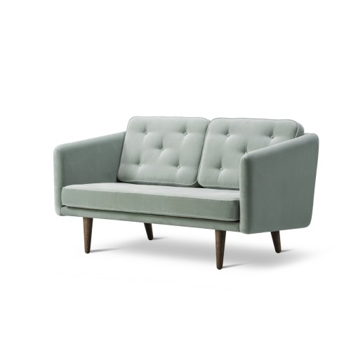 No.1 SOFA 2-SEATER - 1 FABRIC (HARALD)