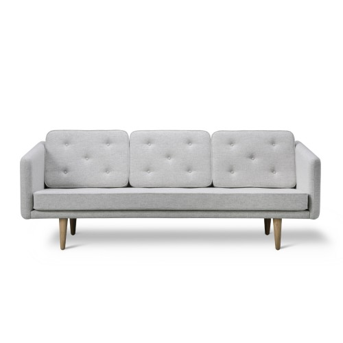 No.1 SOFA 3-SEATER - 1 FABRIC (HALLINGDAL)