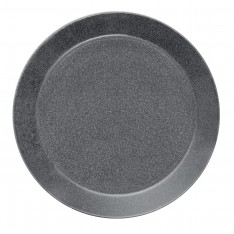 TEEMA PLATE 26CM DOTTED GREY
