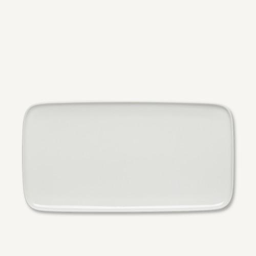 OIVA PLATTER 16X30CM WHITE