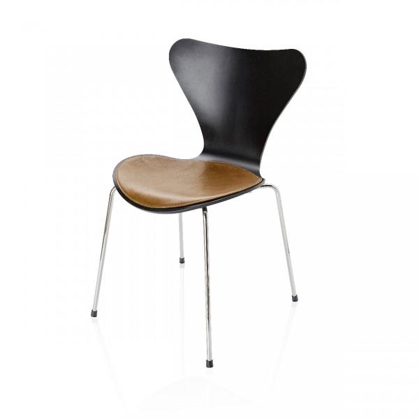 fritz hansen zitkussen cognac leer series 7 stoel arne. Black Bedroom Furniture Sets. Home Design Ideas