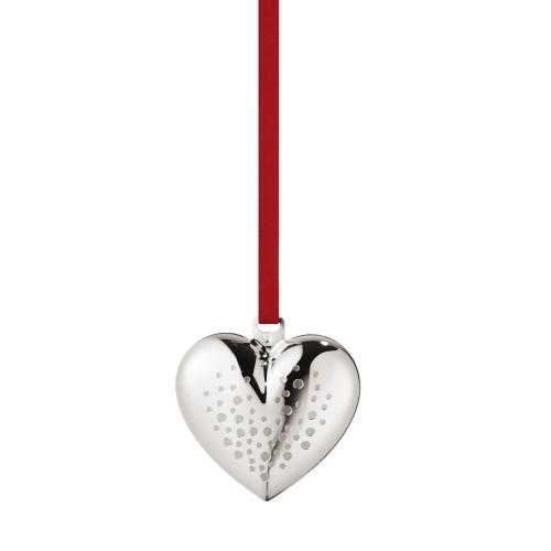 CHRISTMAS HEART 2017 - PALLADIUM PLATED
