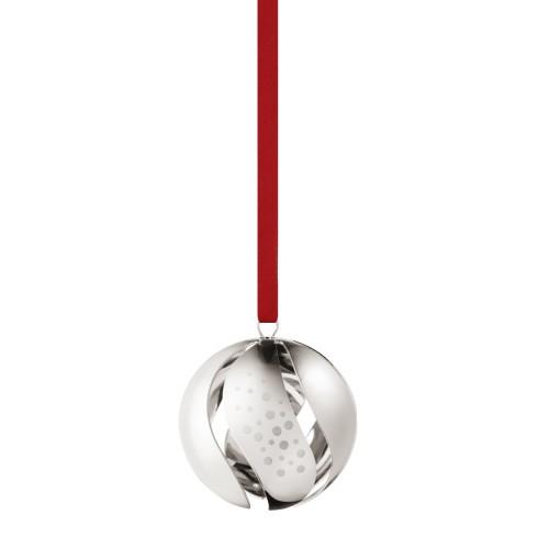 CHRISTMAS BALL 2017 - PALLADIUM PLATED