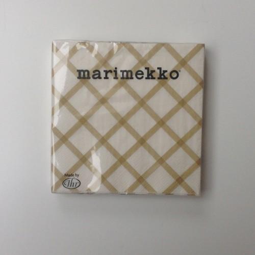 MARIMEKKO PAPIEREN SERVET - GROOT - QUILT GOUD