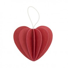 LOVI HEART 6,8CM BRIGHT RED
