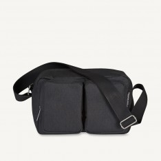 MARIMEKKO KORTTELI SHOULDER BAG - BLACK