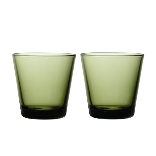 KARTIO GLASS 21CL - 2PCS MOSS GREEN