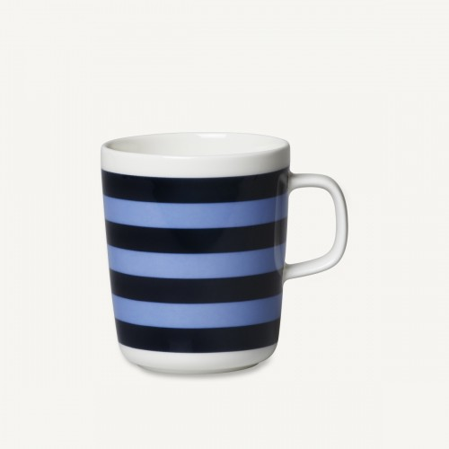 OIVA/TASARAITA MUG 2.5DL BLACK/BLUE