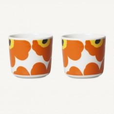 OIVA/UNIKKO COFFEE CUP 2DL - 2PCS ORANGE