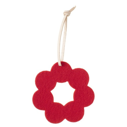 HELMI XMAS ORNAMENT RED