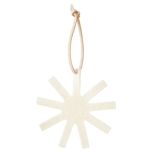 OLKI XMAS ORNAMENT WHITE