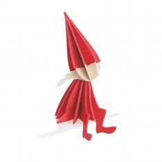 LOVI ELF GIRL 16CM BRIGHT RED