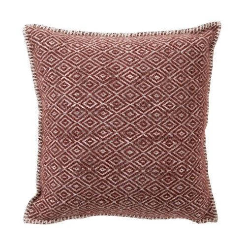 STELLA CUSHION COVER 45X45CM RUST