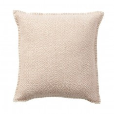 STELLA CUSHION COVER 45X45CM NUDE