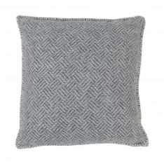 SAMBA CUSHION COVER 45X45CM GREY