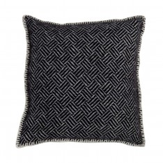 SAMBA CUSHION COVER 45X45CM BLACK