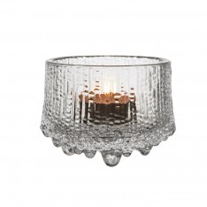 ULTIMA THULE TEALIGHT CANDLEHOLDER - CLEAR