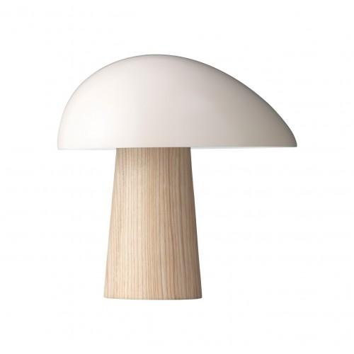 NIGHT OWL LAMPE DE TABLE - FRÊNE/ SMOKEY WHITE