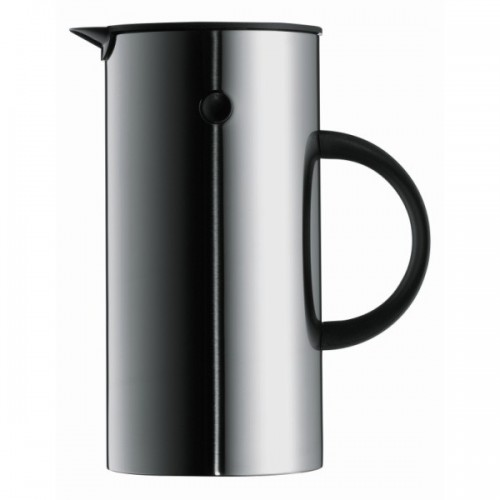 EM PRESS COFFEE MAKER STAINLESS STEEL