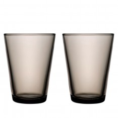 KARTIO GLASS 40CL -2PCS SAND