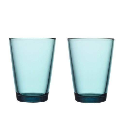 KARTIO GLASS 40CL -2PCS SEA BLUE