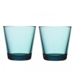 KARTIO GLASS 21CL - 2PCS SEA BLUE
