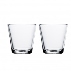 KARTIO GLASS 21CL - 2PCS CLEAR