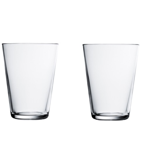 KARTIO GLASS 40CL -2PCS CLEAR