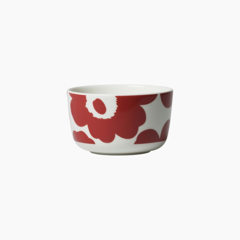 OIVA/UNIKKO BOWL 2,5DL RED-WHITE