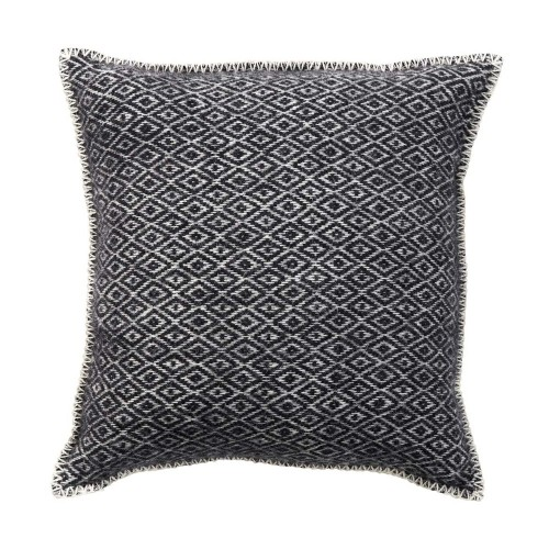 STELLA CUSHION COVER 45X45CM BLACK