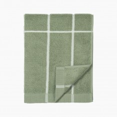 TIILISKIVI HAND TOWEL 50X100CM GREEN
