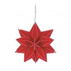 LOVI STAR 10CM - BRIGHT RED