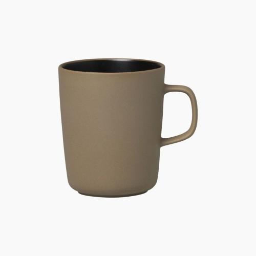 TASSE À CAFÉ OIVA 2.5DL BRUN