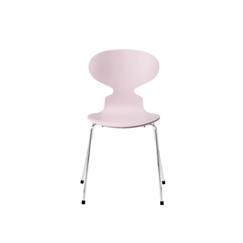 ANT CHAIR 3101 PALE PINK/ CHROME