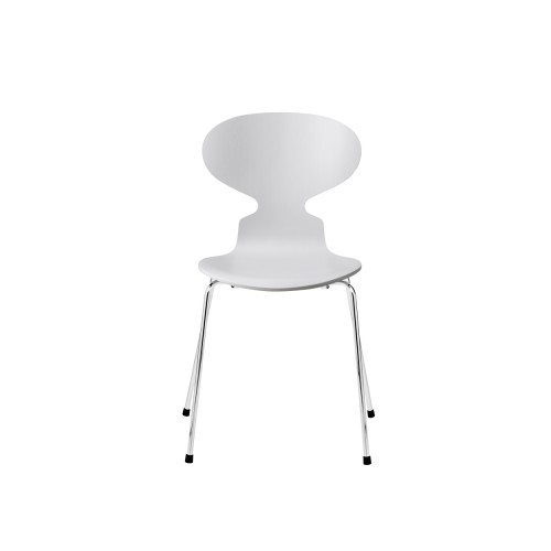 ANT CHAIR 3101 PALE GREY / CHROME