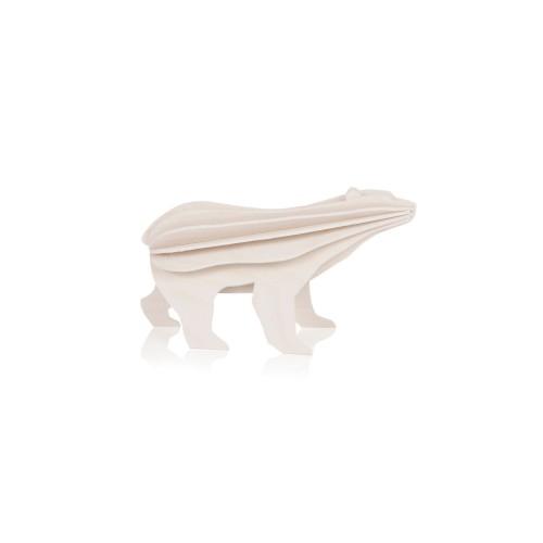 LOVI POLAR BEAR 7CM WHITE